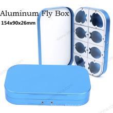 New High Quality Aluminum Fly Fishing Box