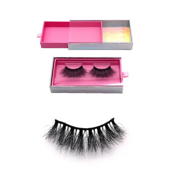 604 Hitomi eyelash vendor customized boxes Private Label Eyelashes Mink paper eyelash packaging 3d real mink eyelash