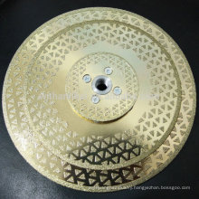 gold supplier good price sintered diamond cutting disk for marble cutting