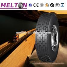 Neumático del camión de la marca de 11R22.5 12R22.5 13R2.5 MELTON, neumático de coche 165-265 R13-R22