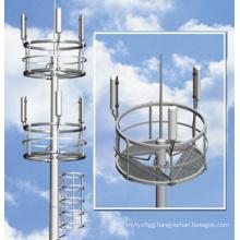 Square High Mast Lighting Steel Pole