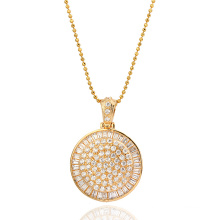 Xuping Luxury Jewelry Pendant Inlaid with Synthetic CZ