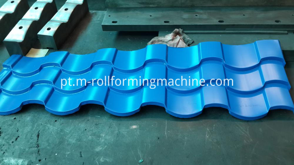 Roof tile manufacturing roll forming machines-2