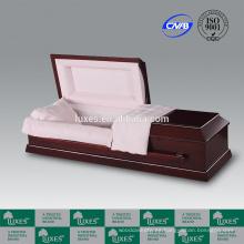 Cremación de venta por mayor de LUXES ataúd rojo colores de ataúdes