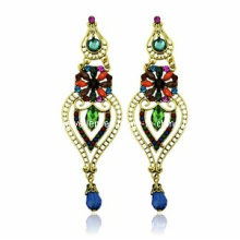 Trendy Bohemia Style Resin Stone Earring (XER13098)