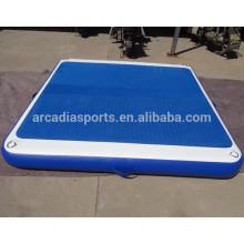 Wholesale Inflatable EVA Water Platform Floating Pontoon Mats