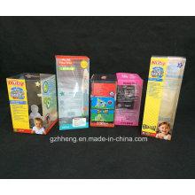 Подгонять бумажной доски складывая Коробка подарка Упаковывая печатание(пластиковая коробка)