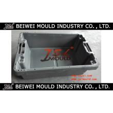 Customized Injection Stacking Plastic Fish Box Crate Mould
