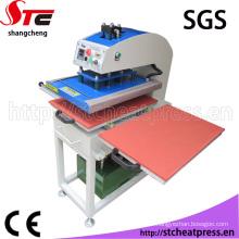Le CE a approuvé l'équipement de presse hydraulique de la chaleur de l'huile 40X50cm pour l'habillement