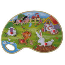 Educational Wooden Toys Wooden Puzzle (34756)