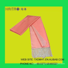 fashion ladies shawls-- scarf with solid color