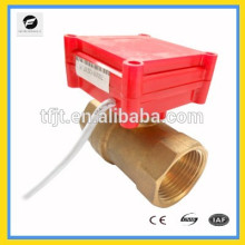 dn15 120 volt 1/2 inch Motorized ball valve brass CR03 CR04 normally close