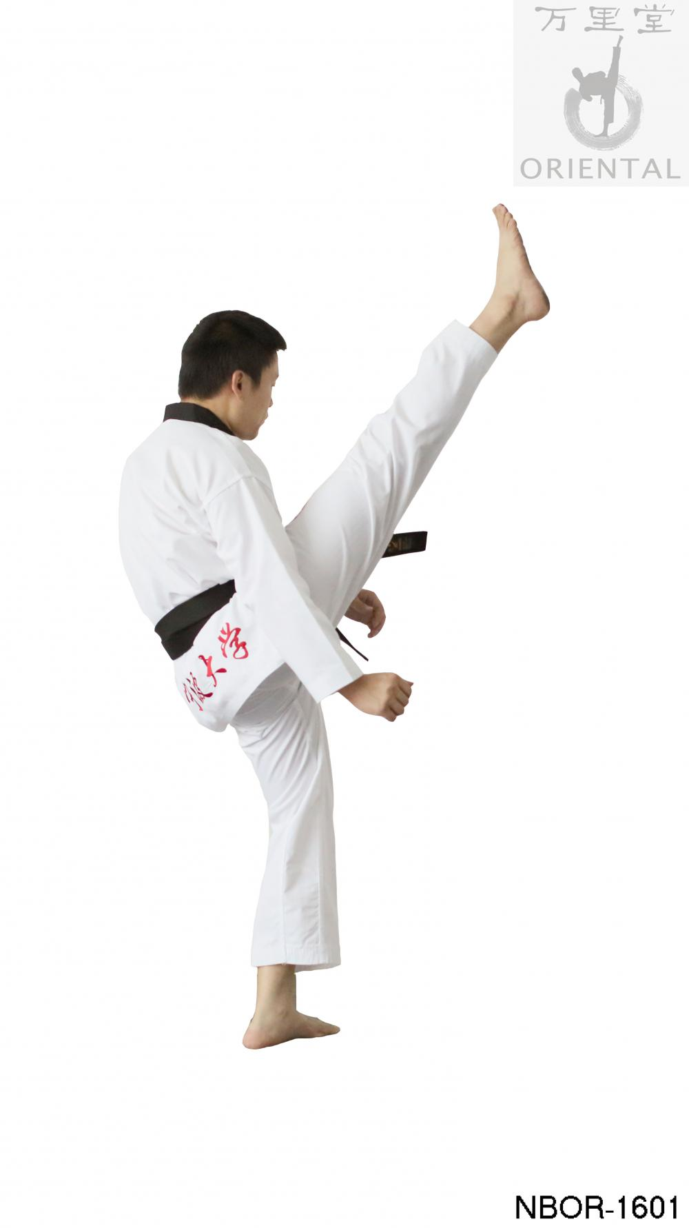 white training taekwondo dress