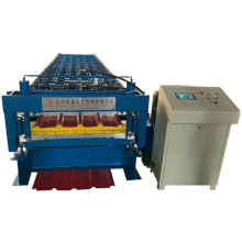 Rolled double trapezoidal Steel panel roll Forming Machine