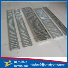Proveedores de China de la plataforma de rallado llana de la placa del cinc del acero de carbono Fabricantes