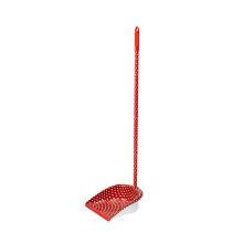 Сделано в Китае Стандартный размер дома Красный очистка пластика PP Длинная рука Dustpan