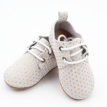 Baby Kids Fesyen Spot Oxford Shoes