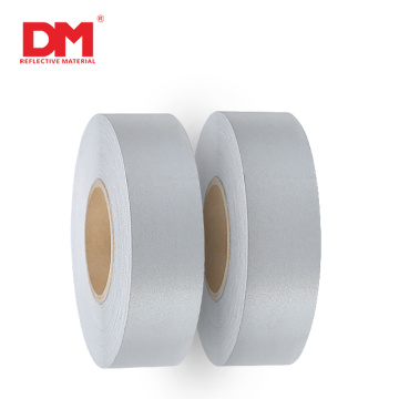 Pass EN20471 100% polyester Sew-on retro reflector tape reflective fabric for safety clothing