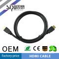 SIPU Gold connecteur 1.4version cuivre hdmi cbale gros audio vidéo câbles fot tv support 3d meilleur ordinateur câble