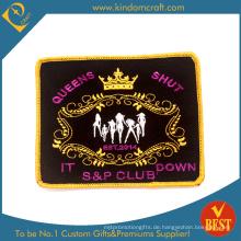 Benutzerdefinierte Mode Königin geschlossen Club Stickerei Patch (LN-0161)