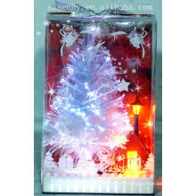 parties d'arbres de Noël à fibres optiques