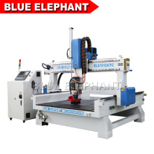 Jinan Blue Elephant 1313 Linear Tool Storage Automatic Woodworking Carving Machine with Sinking Table for Processing Thicker Wood