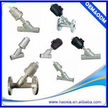 JZF-20 contrôle pneumatique ss angle siège valve à deux sens