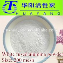 Al2O3 99% weißes geschmolzenes Tonerdepulver 200 Masche benutzt im Stahlpolieren