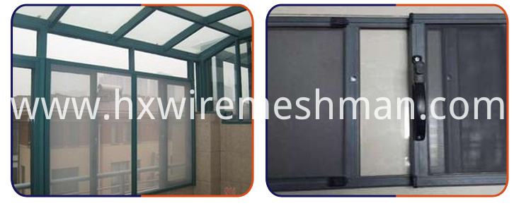 galvanized window screen use