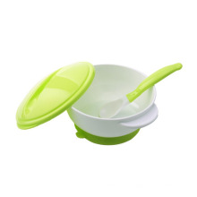Plastic baby eating set baby suction bowl