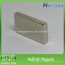 N42 кубовидной/неодимовый магнит/магниты квадры F25x14x4mm