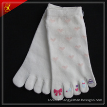 Custom Cotton 5 Toe Yoga Socks