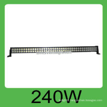 High quality CE&ROHS 240W IP68 DC10v-30V auto led light work,3 years warranty