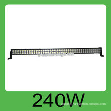 High quality CE&ROHS 240W IP68 DC10v-30V auto led light work,3 years warranty