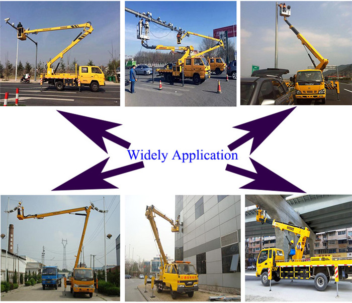 Aerial Lift Platform Truck application