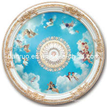 Elegant Fiberglass Artistic Ceiling with Angels Decoration (BRRD15-F1-024)