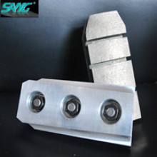 Haute qualité 140mm 170mm Longueur en métal Bond Diamond Fickert