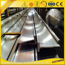 Extrusão de Alumínio T-Slot Anodizado com Certificação ISO9001