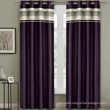Embroidery 100% Polyester Window Curtains