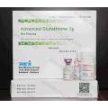 Injection de glutathion 3G pour blanchiment de la peau / Gsh 3000mg Produits de beauté injectables