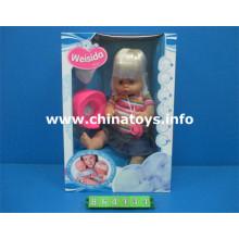 """Muñeca de juguete de plástico de 16 """"con juguetes para bebés Drink Water Baby (864434)"""