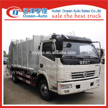 Dongfeng hydraulic operation 8cbm compactor trash truck