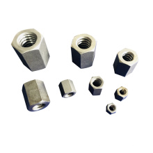 Delicate Top Hit Rates Product Top Quality In Stock Fasteners Hex Heavy Tall Nuts For Industry
