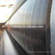 Китай прямой завод высшего качества черный erw стальная труба