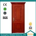 Настроить высококачественные деревянные двери из ПВХ для проектов домов по всему миру