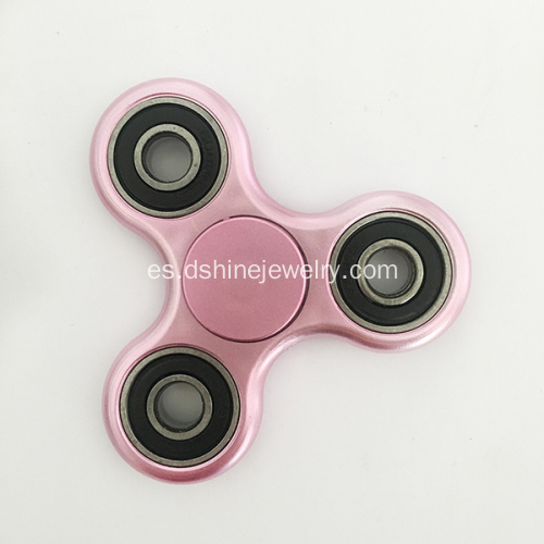 Triángulo Fidgets Finger Metallic Spinner whosale
