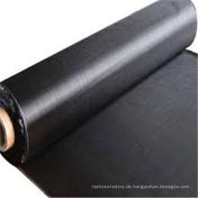 Herstellung der Unkrautbekämpfung schwarz Stoff Mulch / gewebtes Geotextil für die Eisenbahn