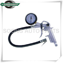 Pistola multifuncional para inflar neumáticos