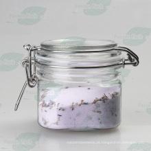 Pet plástico hermético jarra com aço inoxidável trava fivela (PPC-30)