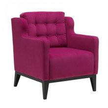 Shinny fabric hotel arm chair XYD228